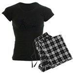 Attached at the Heart Maternity Dark T-Shirt
