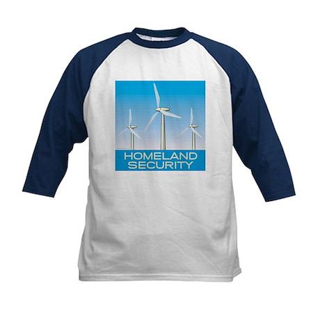 Wind Power America Kids Baseball Jersey