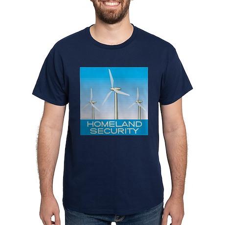 Wind Power America Dark T-Shirt