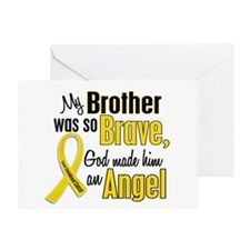 Angel 1 BROTHER Child Cancer Greeting Card