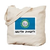South Dakota Flag Tote Bag