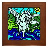 Pegasus the Flying Horse Framed Tile