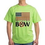 No Bow Green T-Shirt