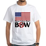No Bow White T-Shirt