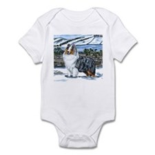 Shetland Sheepdog Blue Merle Infant Bodysuit