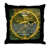 Shiva the Cosmic Dancer Throw Pillow