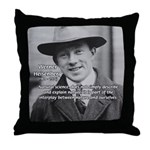 Heisenberg Natural Science Throw Pillow