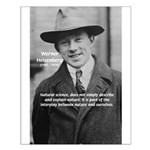 Heisenberg Natural Science Small Poster