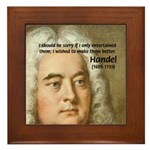 Handel's Messiah Framed Tile