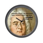 Handel's Messiah Wall Clock
