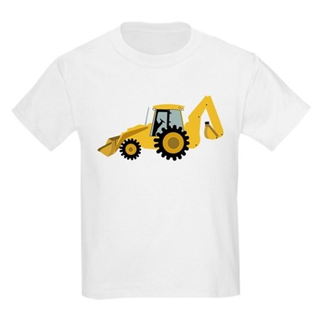 Backhoe Kids Light T-Shirt