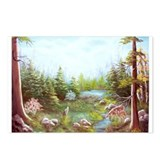 Deer and Stream Postcards (Package of 8)