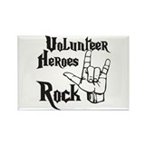 Volunteer Heros Rectangle Magnet