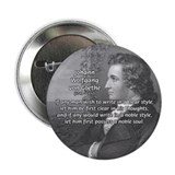 "Poet Johann von Goethe 2.25"" Button (100 pack)"