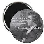 Power of Dreams: Goethe Magnet