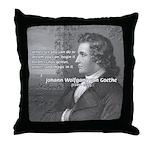 Power of Dreams: Goethe Throw Pillow