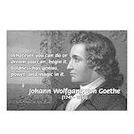 Power of Dreams: Goethe Postcards (Package of 8)