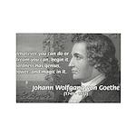 Power of Dreams: Goethe Rectangle Magnet (100 pack
