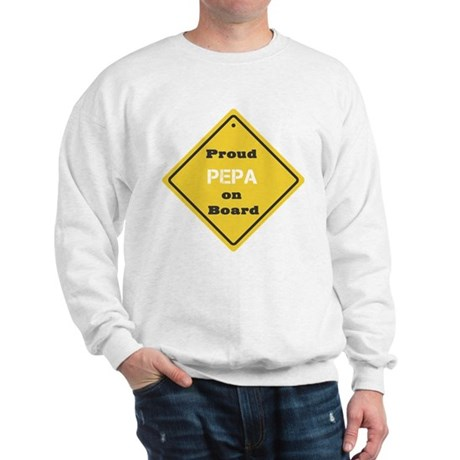 Proud Pepa on Board Sweatshirt
