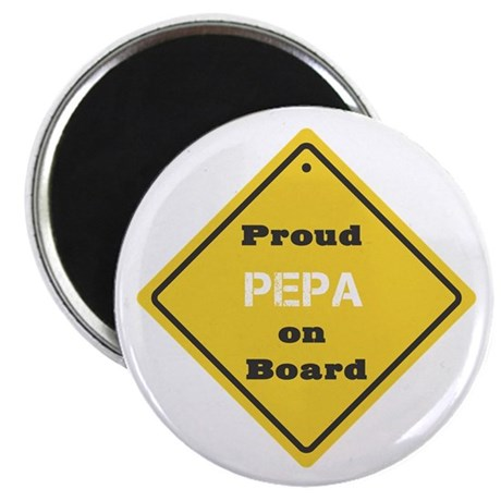 Proud Pepa on Board Magnet