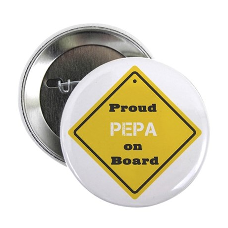 "Proud Pepa on Board 2.25"" Button (10 pack)"