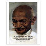 Peace Activist Gandhi Small Poster