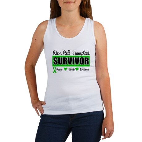 Stem Cell Transplant Survivor Women's Tank Top