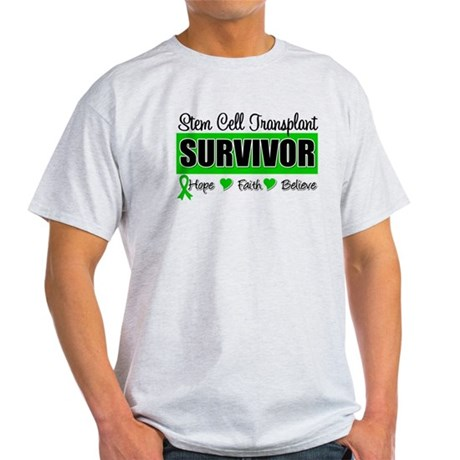 Stem Cell Transplant Survivor Light T-Shirt