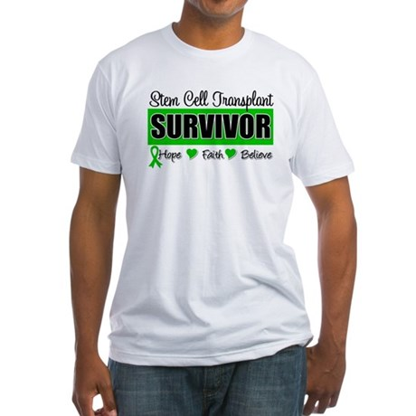 Stem Cell Transplant Survivor Fitted T-Shirt