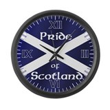 Scottish Pride Large Wall Clock