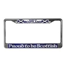 Scottish Pride License Plate Frame