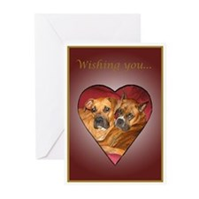 Ginger Wedding Cards (Pk of 10)