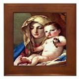 Madonna Framed Tile
