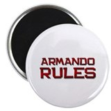 "armando rules 2.25"" Magnet (10 pack)"