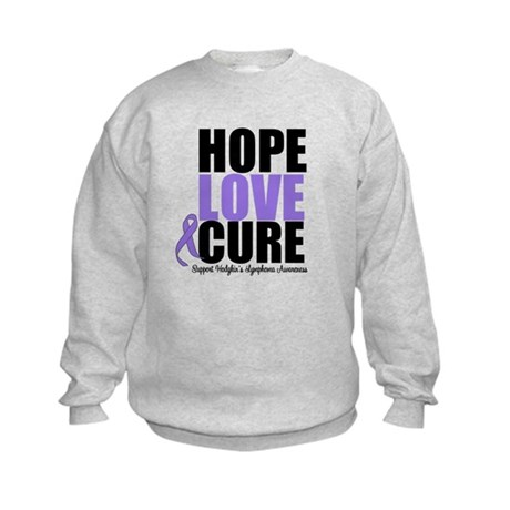 Hodgkins Hope Love Cure Kids Sweatshirt