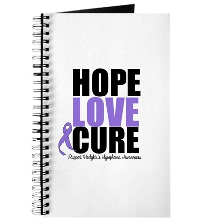 Hodgkins Hope Love Cure Journal
