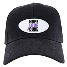 Hodgkins Hope Love Cure Baseball Hat