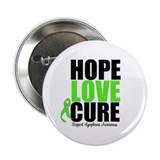 "Lymphoma Hope Love Cure 2.25"" Button (10 pack)"