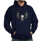 Winged Skull Hoody