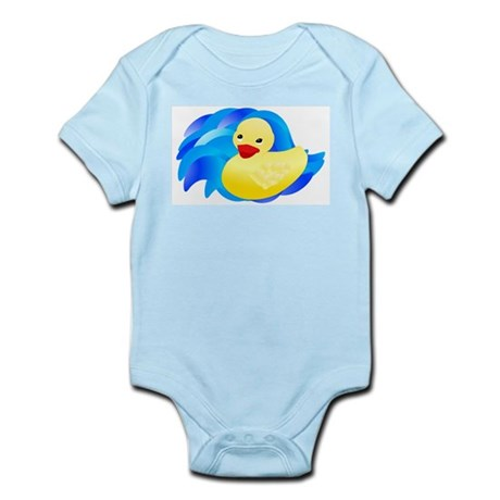 Rubber Ducky Infant Creeper