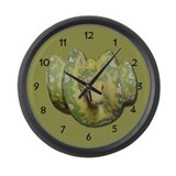 Green Tree Python Large Wall Clock