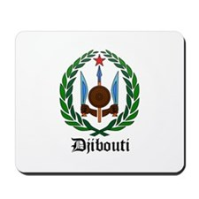 Djiboutian Coat of Arms Seal Mousepad