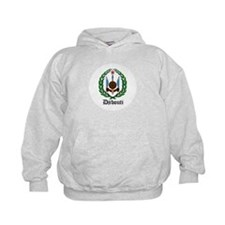 Djiboutian Coat of Arms Seal Hoodie