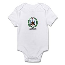 Djiboutian Coat of Arms Seal Infant Bodysuit