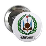 "Djiboutian Coat of Arms Seal 2.25"" Button"
