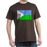 Djiboutian Islands Flag T-Shirt