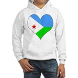 I Love Djiboutian Islands Jumper Hoody