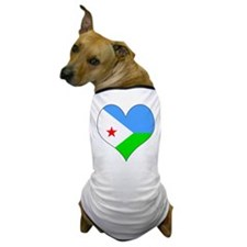 I Love Djiboutian Islands Dog T-Shirt