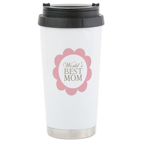 World's Best Mom Ceramic Travel Mug