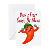 Baby's First Cinco De Mayo Greeting Card